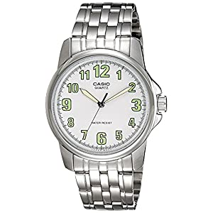 Casio Enticer Analog White Dial Men's Watch - MTP-1216A-7BDF (A357)