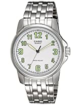Casio Enticer Analog White Dial Men's Watch - MTP-1216A-7BDF (A357)