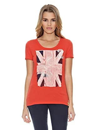 US Polo Assn Camiseta 2English Flag (Rojo)