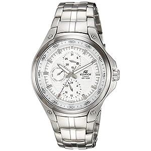 Casio Edifice Analog Silver Dial Men's Watch - EF-326D-7AVDF (ED337)