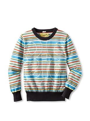 Desigual Boy's Karate Kid Sweater (Multicolor)
