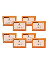 Khadi Pure Orange Soap - 125g (Set of 8)