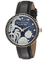 Giordano Analog Black Dial Women's Watch - 2585-01