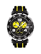 Tissot T-Race Thomas Luthi 2015 Black Dial Black And Yellow Rubber Band Men'S Sports Watch - Tist0924172705700