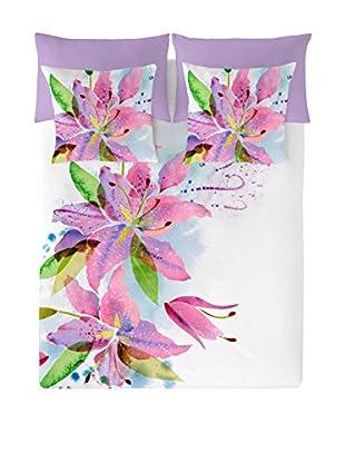NATURALS Juego De Funda Nórdica Lily Flowers