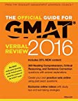 The Official Guide for GMAT Verbal Review 2016 with Online Question Bank and Exclusive Video
