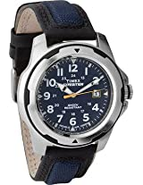 Timex Outdoor Analog Watch For Men Black Blue T49780