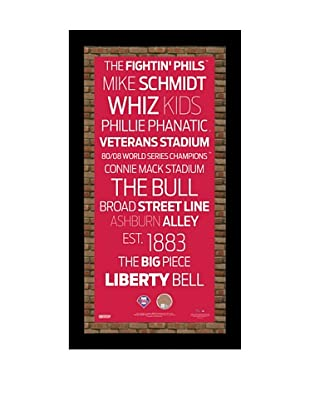 Steiner Sports Memorabilia Philadelphia Phillies Framed Subway Sign