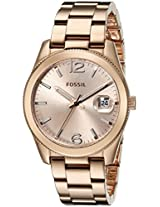 Fossil End-of-Season Perfect Bo Analog Pink Dial Women's Watch - ES3587