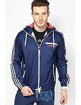Navy Blue Originals Rain Jacket