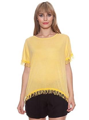 Santa Barbara Camiseta Flecos (Amarillo)