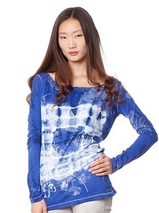 Custo Camiseta Longier (Azul)