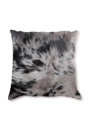 Natural Brand Torino Cowhide Pillow, S & P Black/White