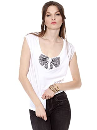 Guess Camiseta Lazo (Blanco)
