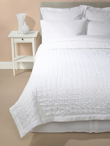 Mili Designs Spirit Quilted Coverlet (White)
