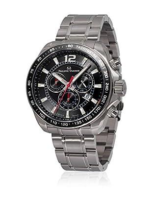 PHILIPPE VANDIER Uhr mit schweizer Quarzuhrwerk 77000  42 mm