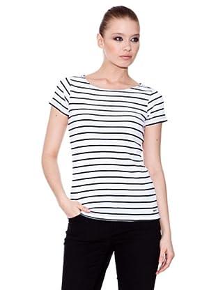 Esprit Camiseta Boat (Blanco / Negro)