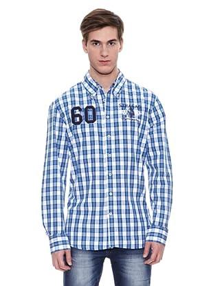 Camisa Etowah (Azul / Blanco)