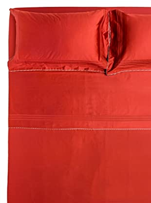 Ballantyne Home Completo letto Claridge (rosso)