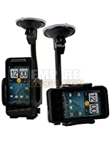 HTC EVO Shift 4G SPRINT Adjustable Car Windshield Dash Mount Cradle Holder Kit