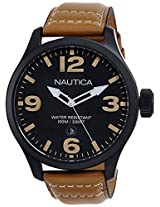 Nautica Analog Black Dial Men's Watch - NTA14633G