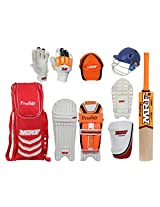 MRF Prodigy Kashmir Willow Cricket Kit, Junior