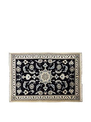 RugSense Teppich Persian Nain schwarz 148 x 100 cm