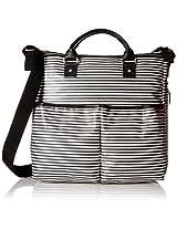 Skip Hop Duo Special Edition Diaper Bag, Black Stripe