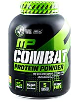 Muscle Pharm Combat Powder Advanced Time Release Protein - 4 lbs (Banana Cream)