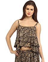Cation Women Brown Top