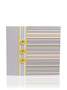 Molly West Prince- Scrapbook, Blue/Yellow