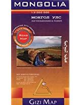Mongolia Road Map