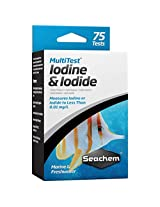 SEACHEM MultiTest - Iodine & Iodide | Performs Over 75 Tests | Fresh & Marine Aquarium Test Kit