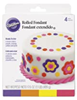 Wilton Neon Colors Fondant, Multi Pack- Discontinued By Manufacturer
