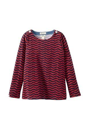 Hatley  Camiseta Cnido (Marino / Rojo)
