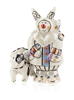 Villeroy & Boch Benedikt Groenland: Eskimo mit Husky