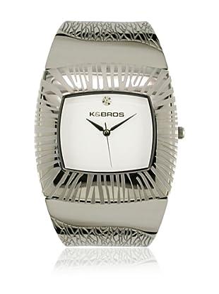 K&Bros  Reloj 9164 (Plateado)