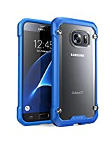 SUPCASE Cell Phone Case for Samsung Galaxy S7 - Retail Packaging - Frost/Blue