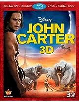 John Carter (Four-Disc Combo: Blu-ray 3D/Blu-ray/DVD + Digital Copy)