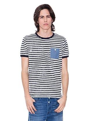 Gio Goi Camiseta Escalibor (blanco / azul)