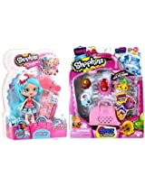 Shopkins Shoppie Jessicake Plus Season 4 Shopkins 5 Pack