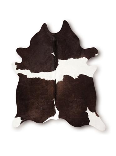 Natural Kobe Cowhide Rug (Chocolate & White)