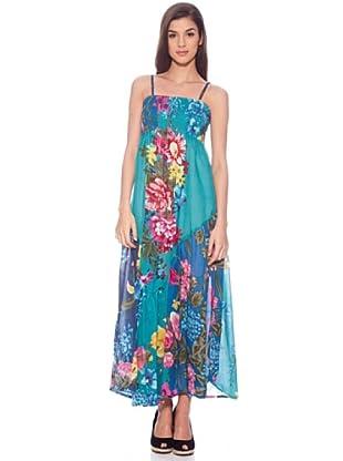 Sigris Vestido Primavera (Turquesa)
