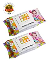 ALCOHOL FREE MEE MEE BABY WET WIPES - PACK OF 2