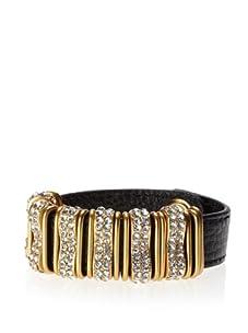 Rebecca Minkoff Black Jewel Loop Bracelet