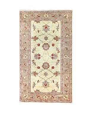 Eden Teppich Agra beige/lehmbraun 91 x 153 cm