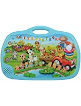 Huile Toys Touch Learning Happy Farm, Blue