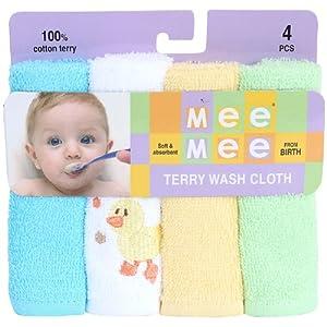 Mee Mee - Set of 4 Baby Napkin
