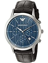 Emporio Armani Analog Blue Dial Men's Watch - AR2494