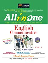 All-in-One English Communicative CBSE Class 10th Term - I